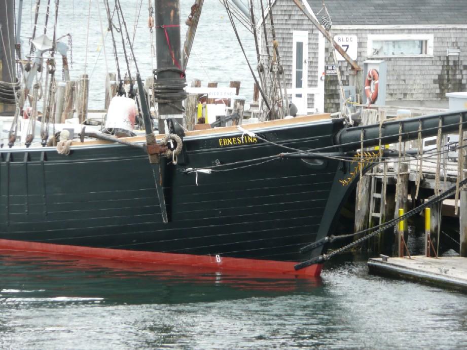 Ernestina Floating Again